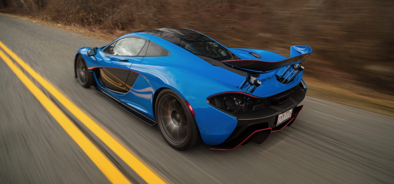 McLaren P1 being sold to underwrite an academic chair at Rose-Hulman technical college   Gooding & Co. photos by Mark Hardymon