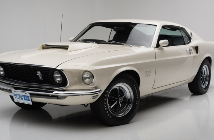 Countdown to Barrett-Jackson Palm Beach 2017: 1969 Ford Mustang Boss 429