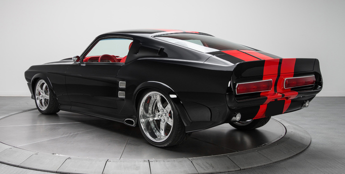 Countdown to Barrett-Jackson Palm Beach 2017: Reggie Wayne's 1967 Ford Mustang GT fastback custom