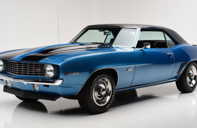 Countdown to Barrett-Jackson Palm Beach 2017: 1969 Chevrolet Camaro Z/28