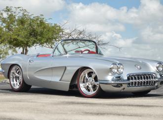 Countdown to Barrett-Jackson Palm Beach 2017: 1962 Chevrolet Corvette LS3 custom convertible