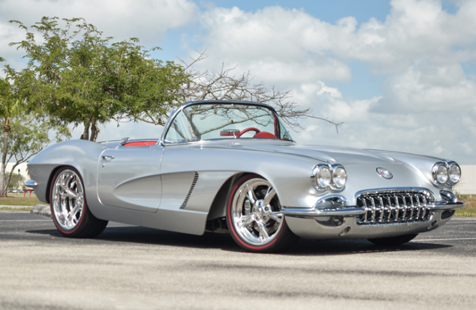 Countdown to Barrett-Jackson Palm Beach 2017: 1962 Chevrolet Corvette LS3 custom convertible