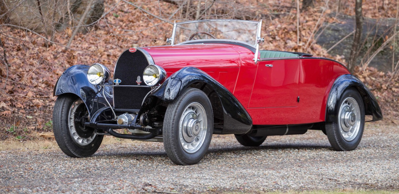 Labourette-bodied 19332 Bugatti Type 49 roadster early consignment for Greenwich auction | Bonhams photo