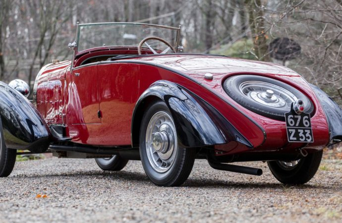Bonhams lands Type 49 roadster for Bugattifest at Greenwich