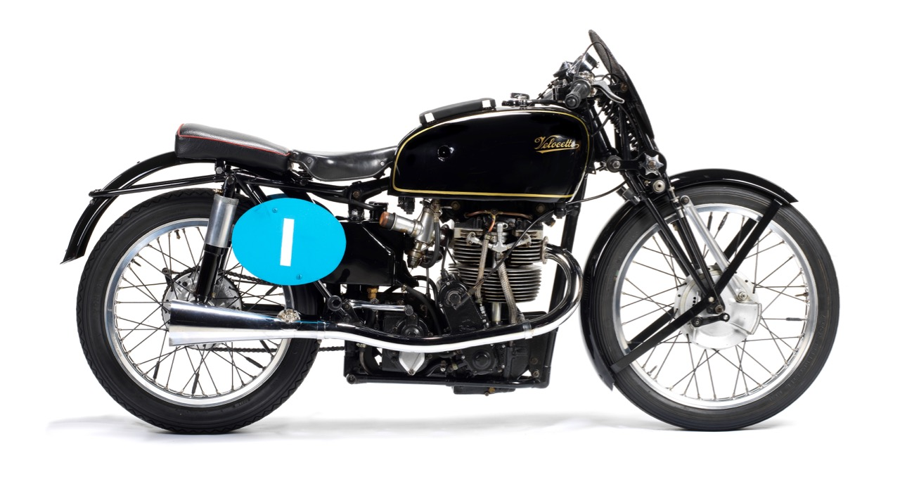 Velocette carried Freddie Frith to world championship in 1949 | Bonhams photos