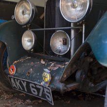 Barn-found Rapier highlights Bonhams' Harlech auction