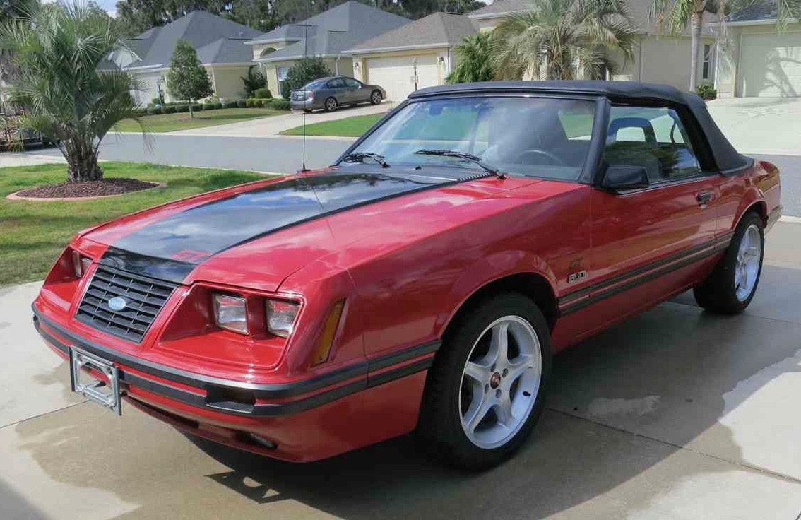 He bought this Mustang twice for his wife