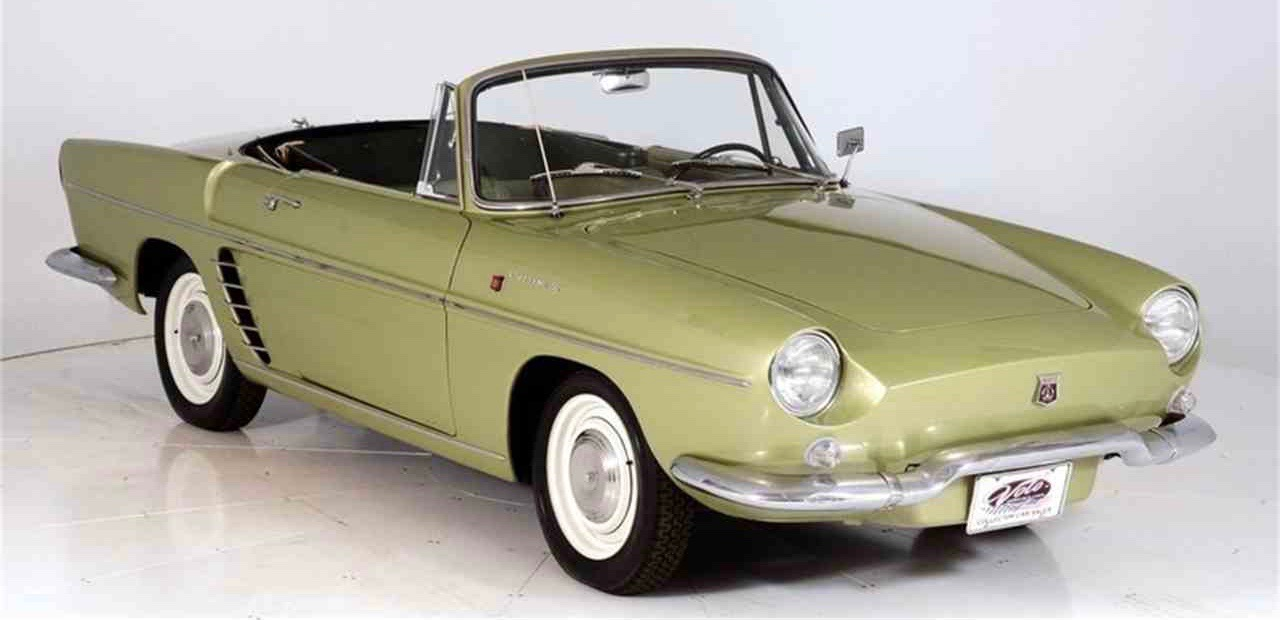 Used Cars Phoenix >> 1960 Renault Caravelle - ClassicCars.com Journal