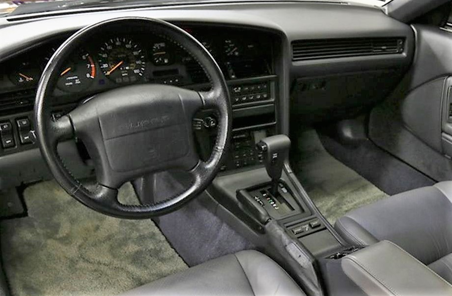 The unmarred interior supports the low-mileage claim