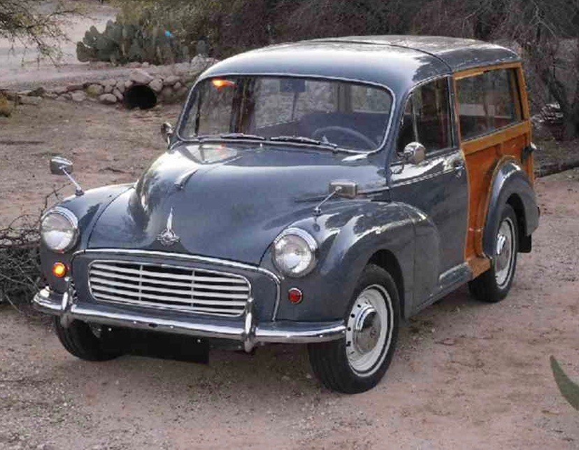 1959 Morris Minor Traveller has undergone rotisserie restoration