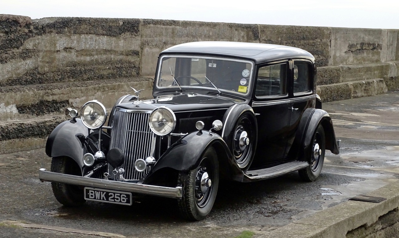 Rare 1935 Special Mk II Touring Limousine among Colin Hope's collection heading to auction | H&H Classics photos