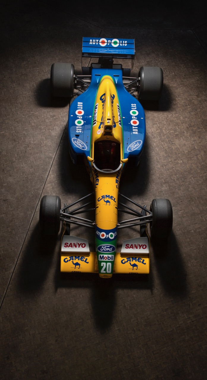 Schumacher was among the car's drivers | Bonhams photos