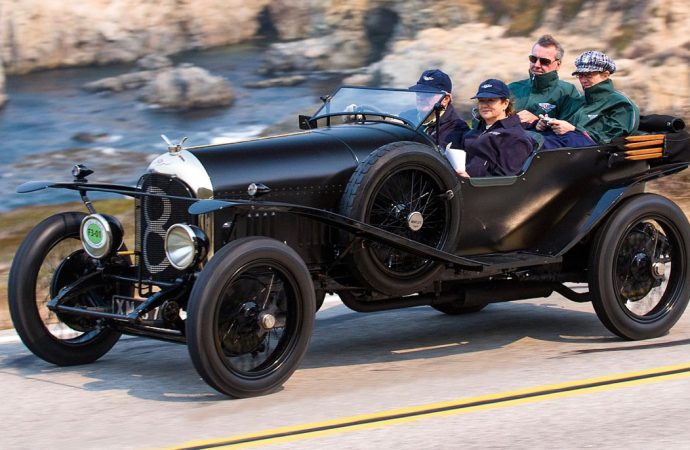 Bentley's first Le Mans racer entered in Britain's Royal concours
