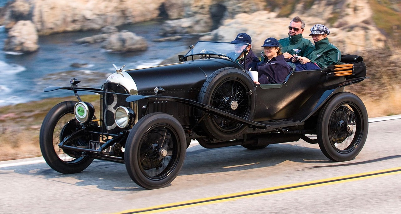 This four-seat Bentley was its first entry in the 24 Hours of Le Mans | Royal Concours photos