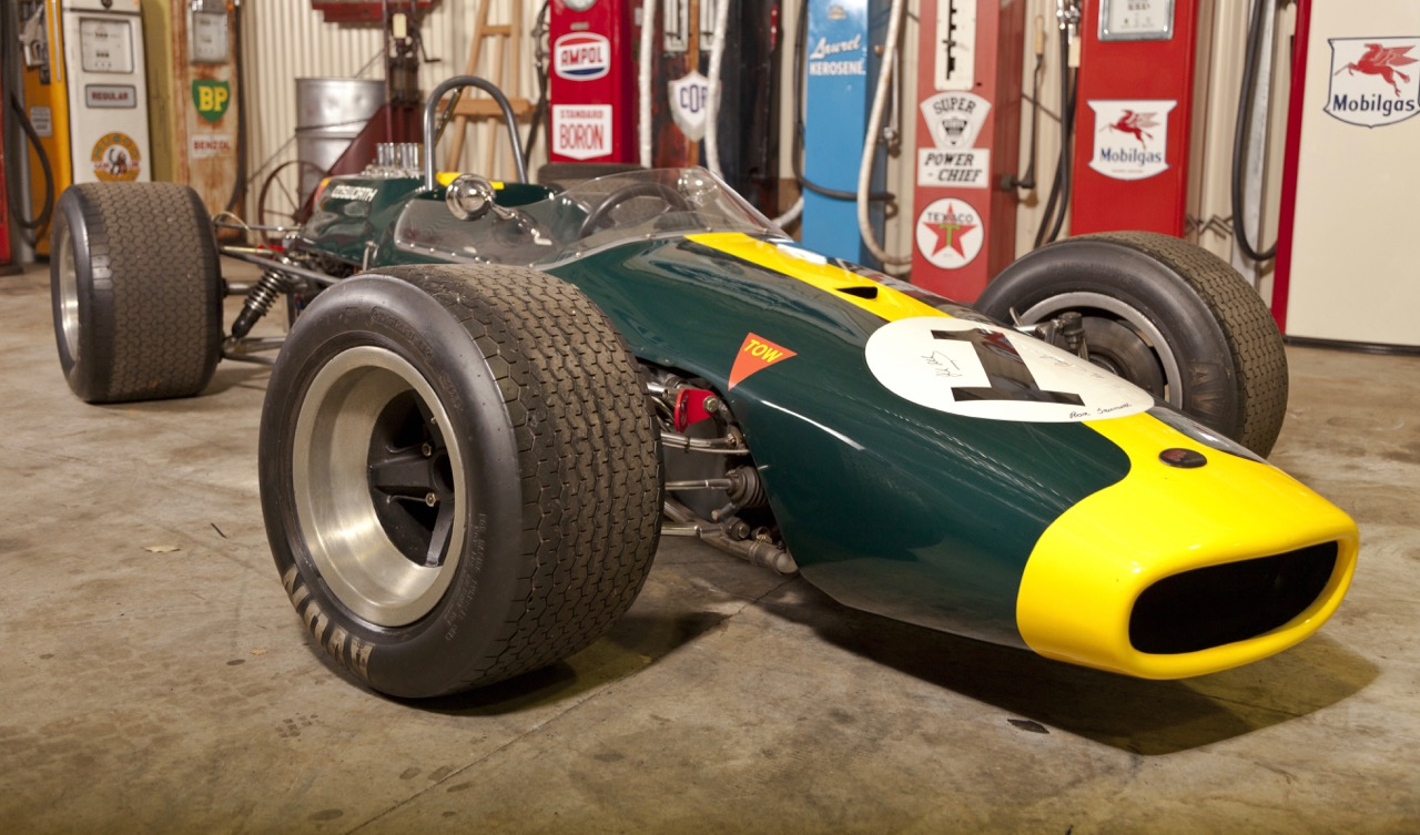 Cosworth-powered Brabham BT21 was owned by Jack Brabham's engine builder | Lloyds Auction photos