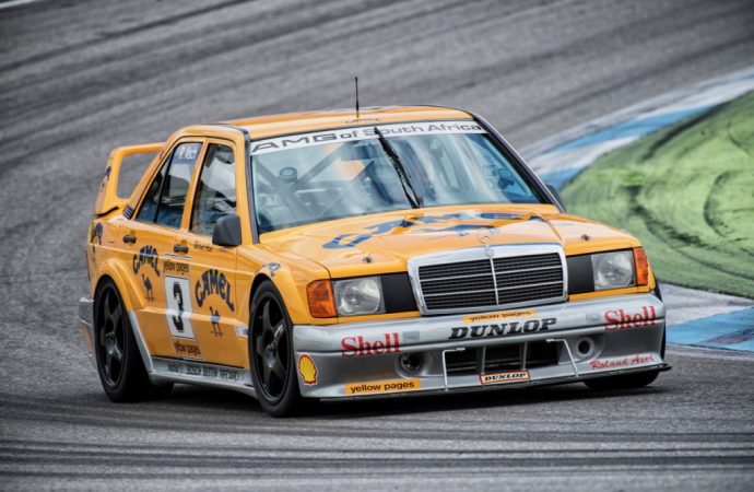 Mercedes-Benz sets three vintage racer track days