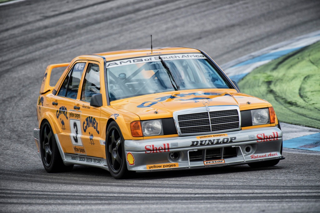Mercedes 'Evo' in action at Hockenheim