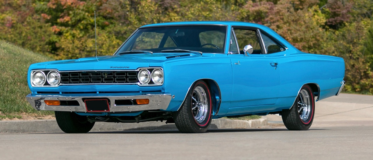 1968 Plymouth Road Runner carries Richard Petty's signature