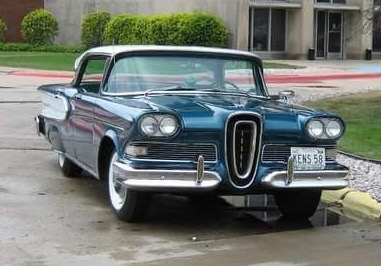 My Classic Car Kens Edsel Corsair ClassicCarscom Journal - My classic car