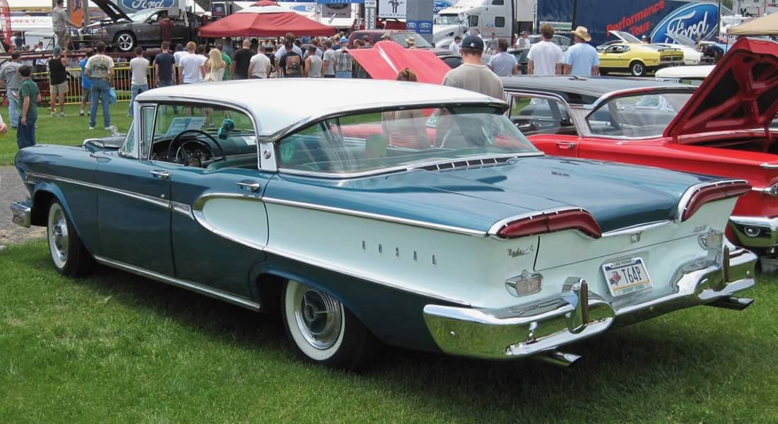 This Edsel was built the same day Sputnik launched into space