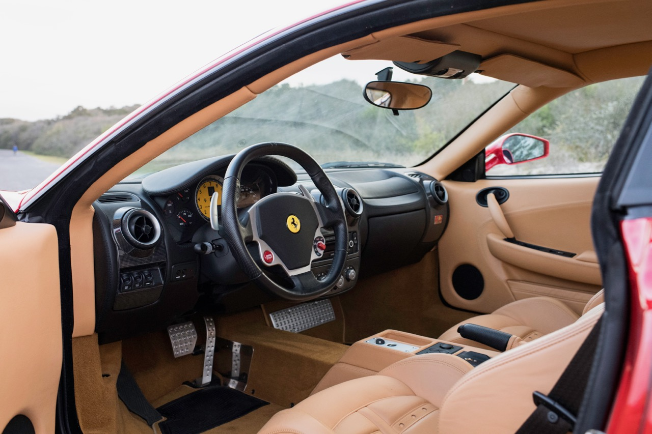 Before the Oval Office, the Ferrari cockpit