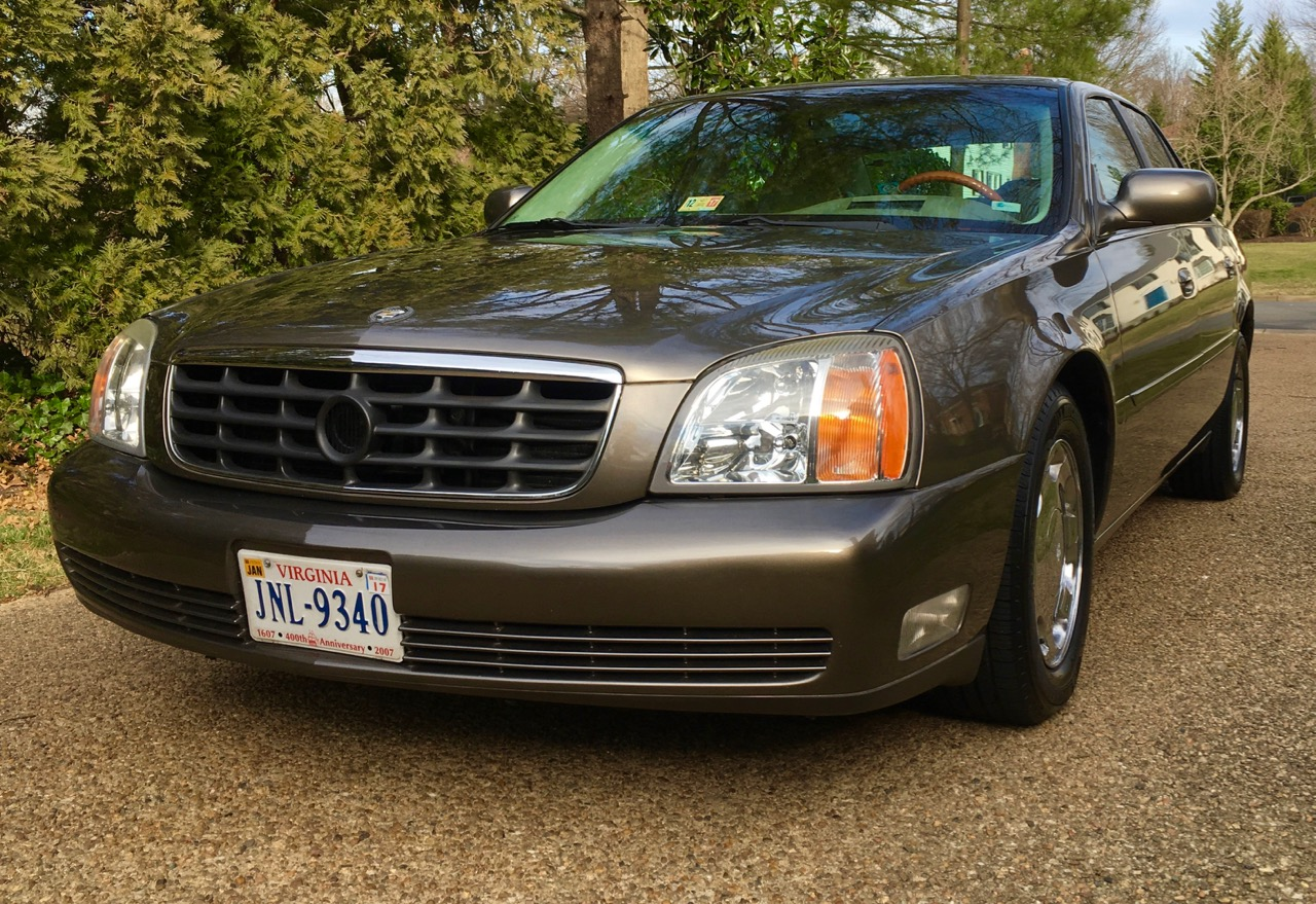 John Glenn was the original owner of this 2000 Cadillac DHS