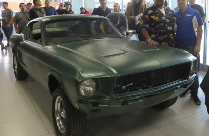Bullitt casing: Lost movie 'jump' car found in Baja Mexico