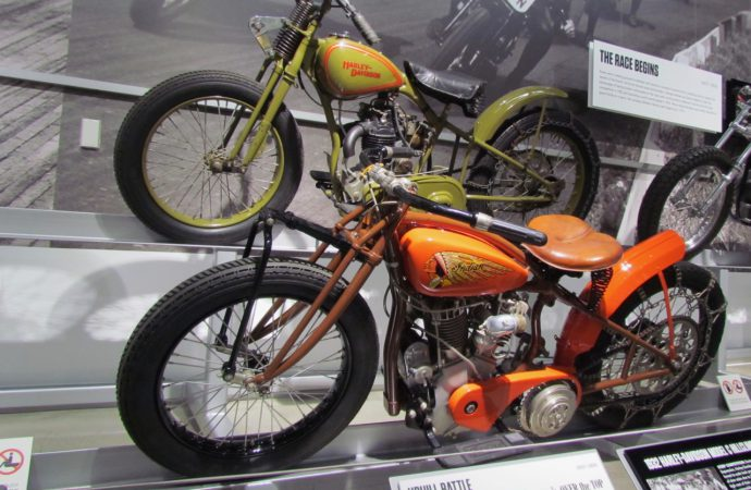 Motorcycle rumble: It's Harley vs. Indian at the Petersen