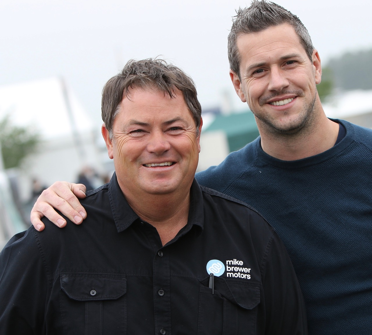 Mike Brewer (left) will team now with Ant Anstead