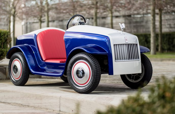Rolls-Royce builds its smallest, but perhaps its most special, car