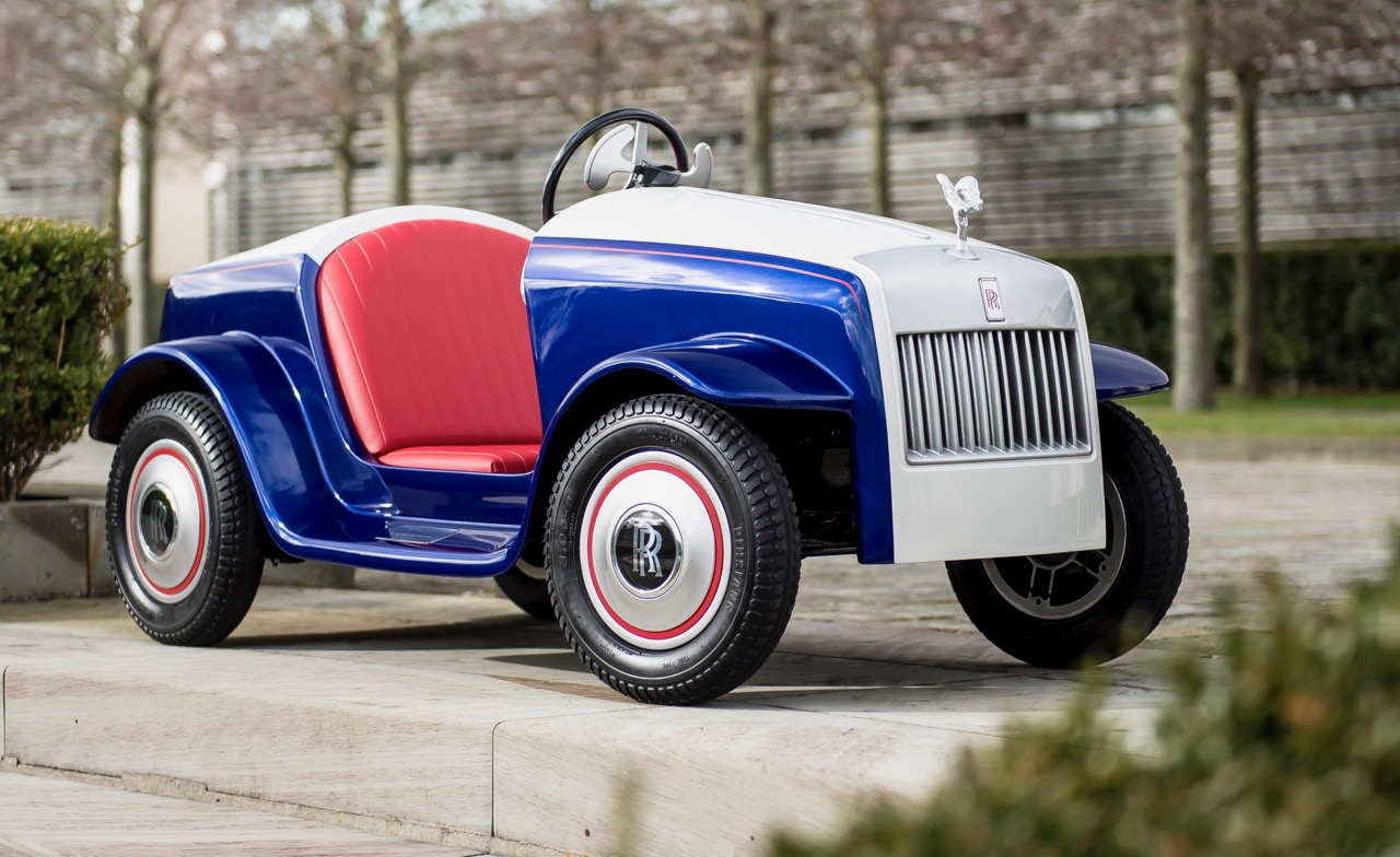 Rolls-Royce builds its smallest, but perhaps its most special, car ...