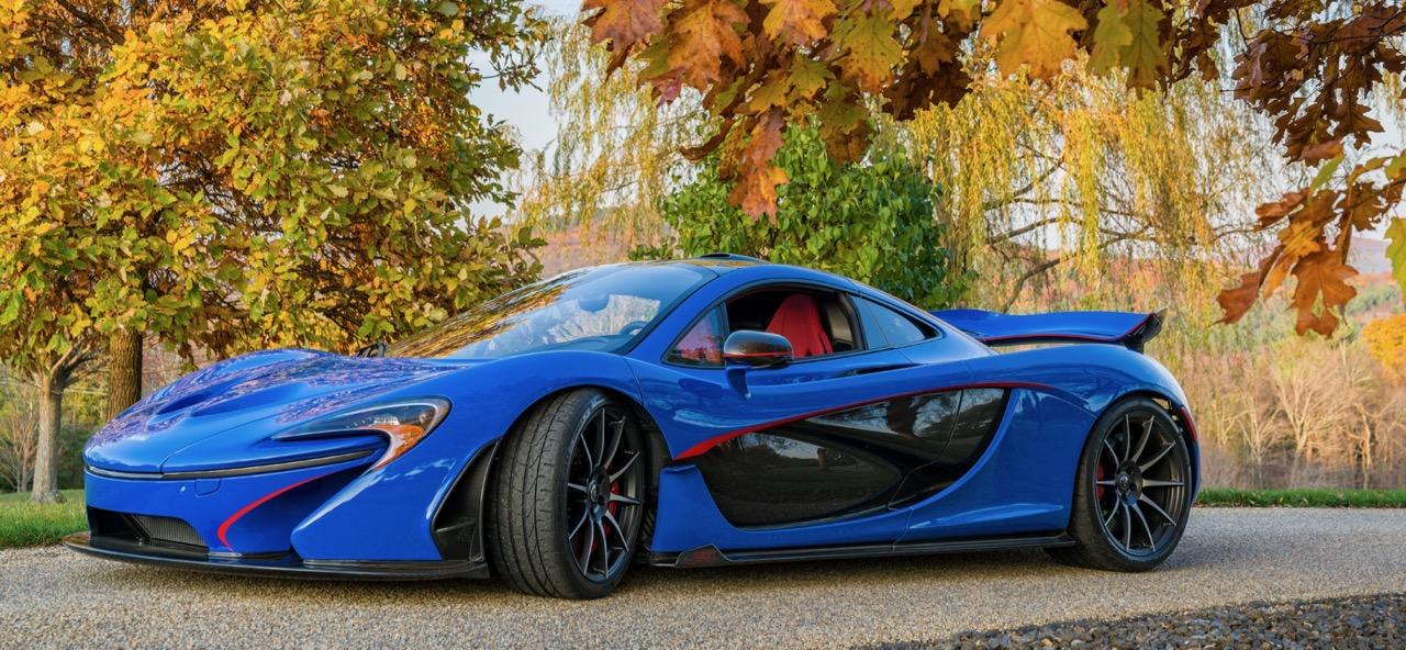 Car wears special 'Professor 2 Blue' color