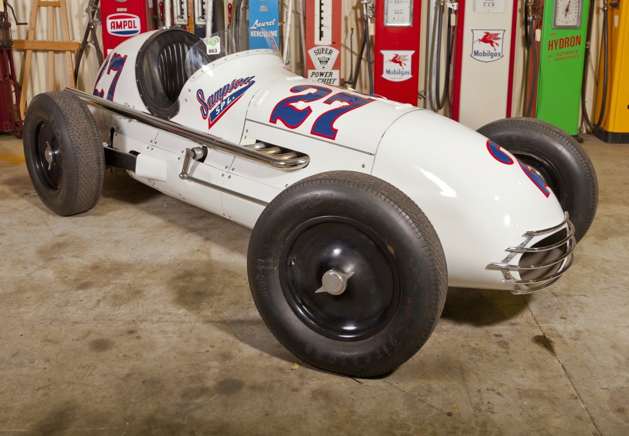 Sampson car raced at Indy in 1950