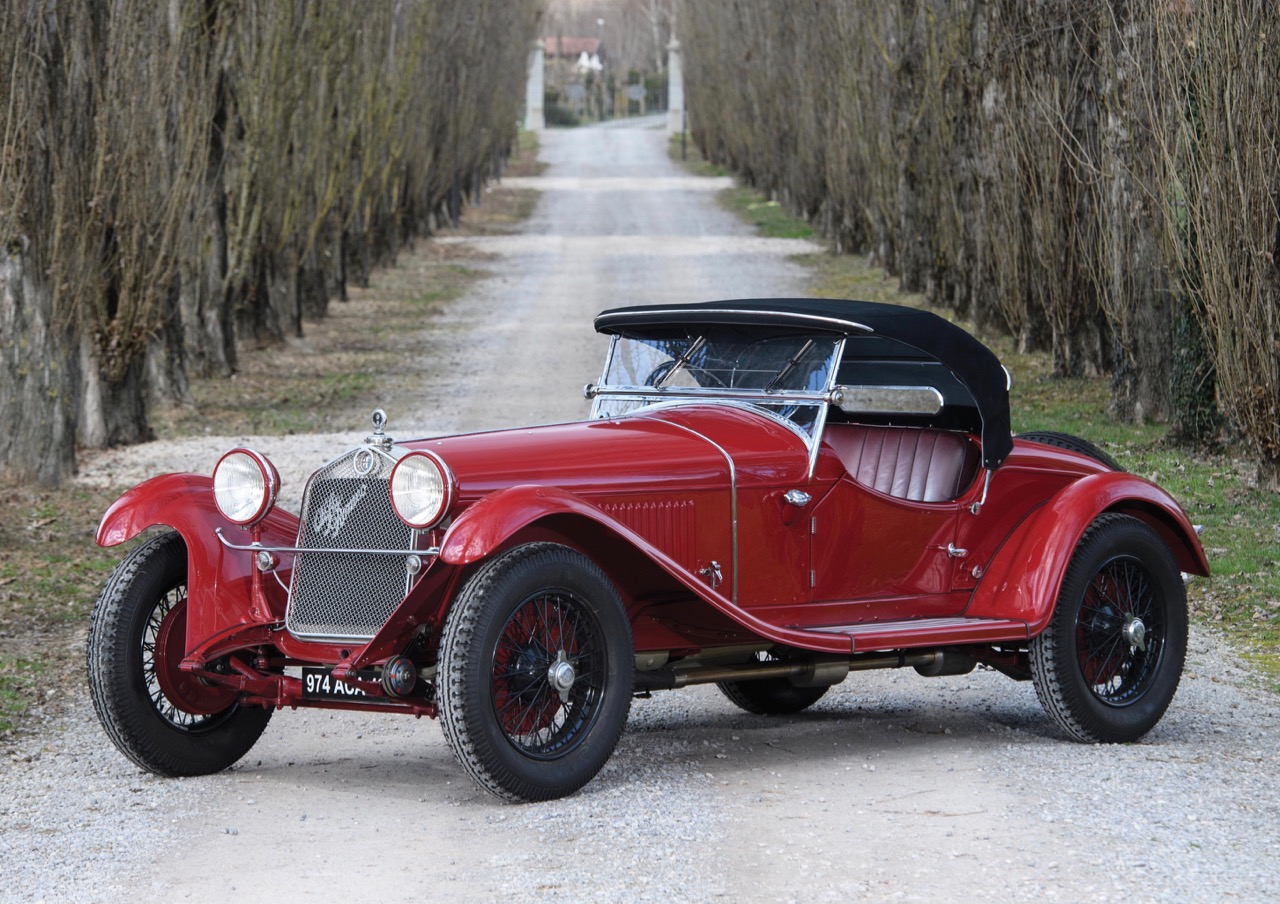 1930 Alfa Romeo 6C 17509 GS Spider figures to among highest-dollar sales at Villa Erba | RM Sotheby's photo by Tim Scott