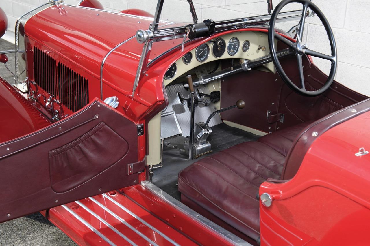 The Alfa cockpit