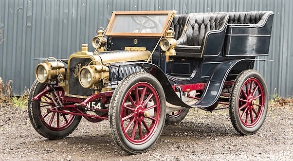 1903 Clément 12/16hp was one of the earliest cars sold