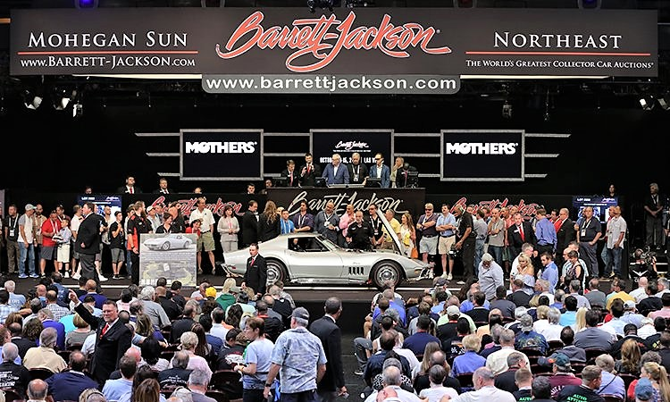 Barrett-Jackson held its first Northeast auction in June 2016