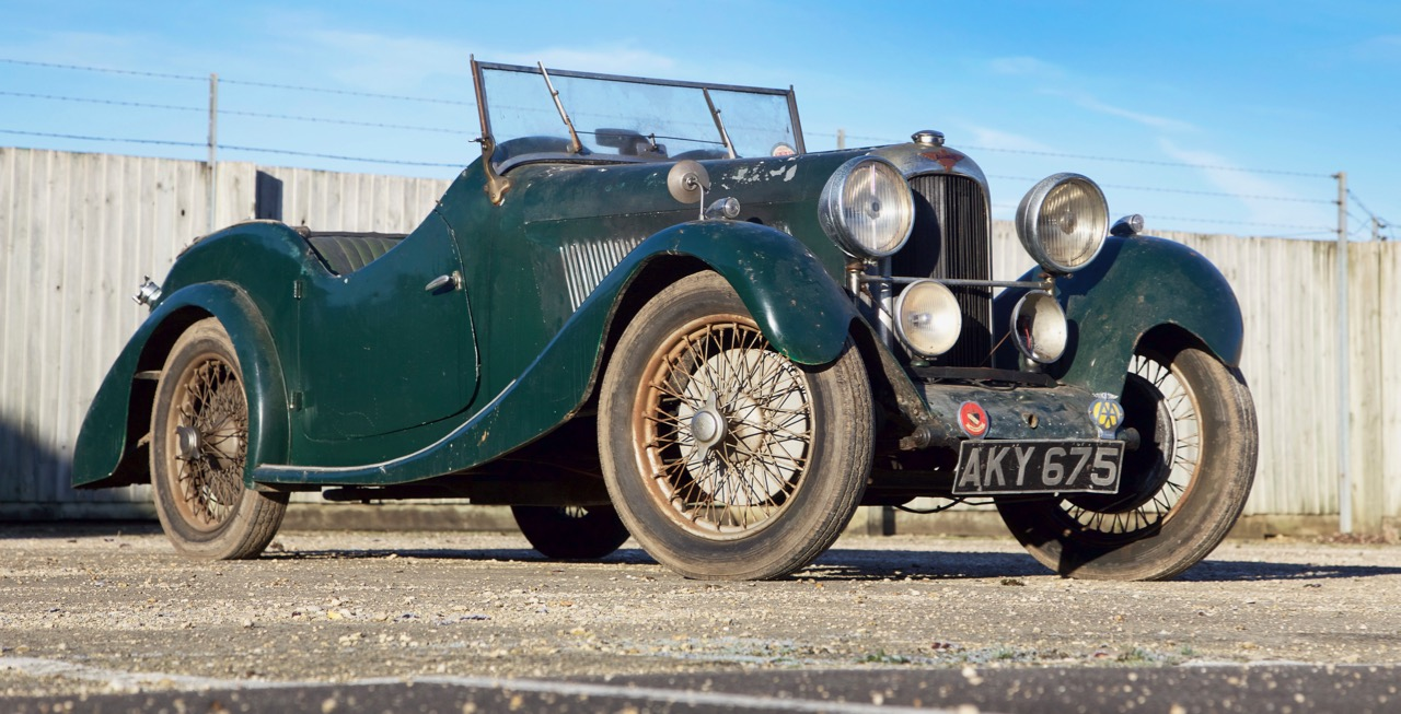 1925 Lagonda Rapier rediscovered after decades in storage | Bonhams photos
