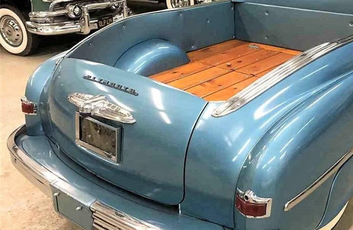 1950 Plymouth Flower Car