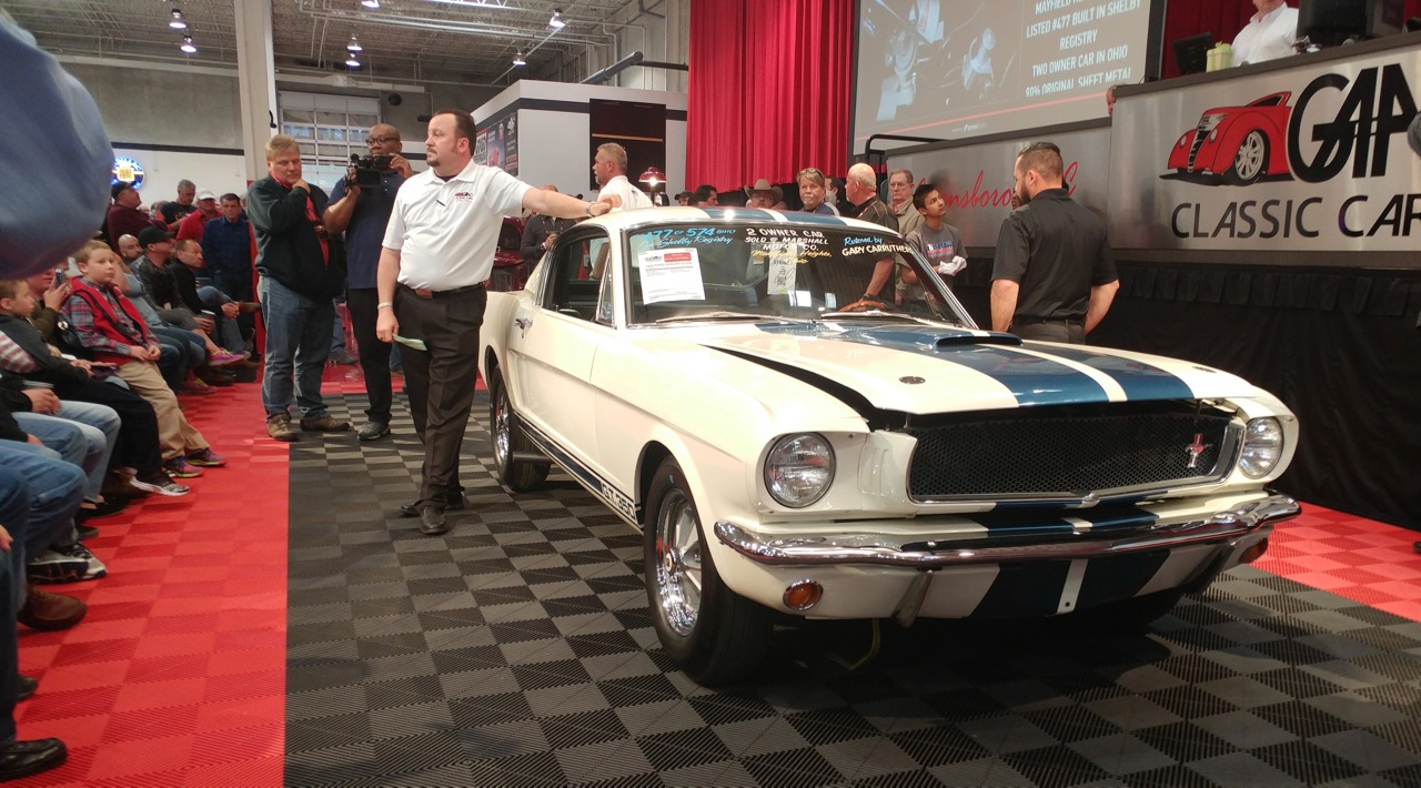 1965 Ford Shelby GT350 set a short-lived record