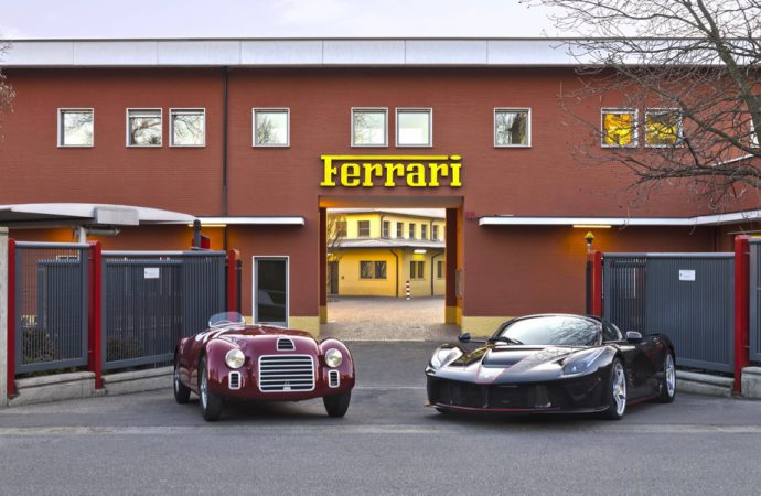 Ferrari begins 70th anniversary with re-enactment, video