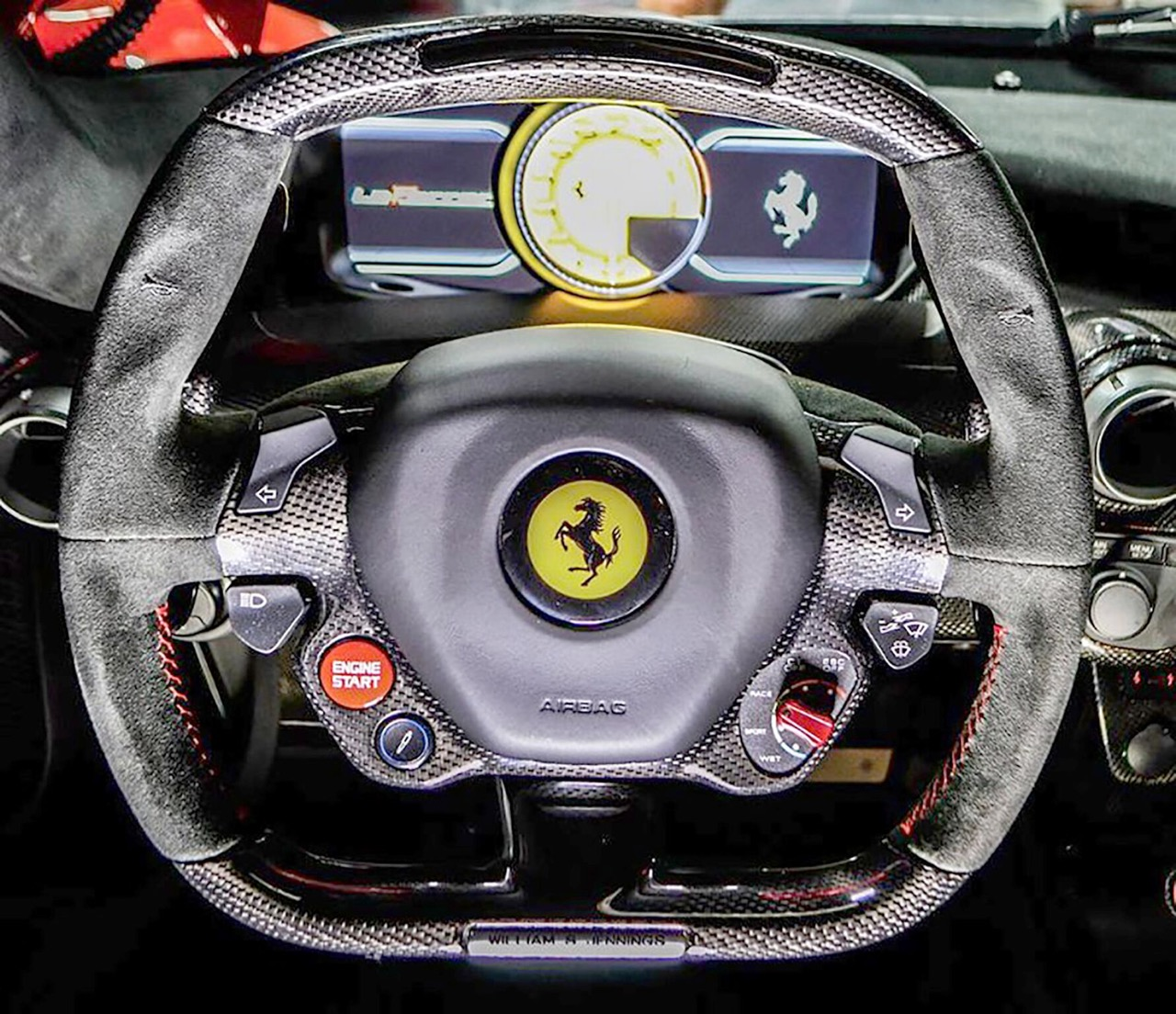 Steering wheel puts controls at driver's fingertips