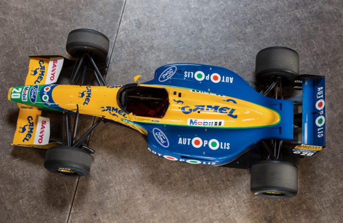 Benetton F1 racer joins Bonhams' Spa sale docket