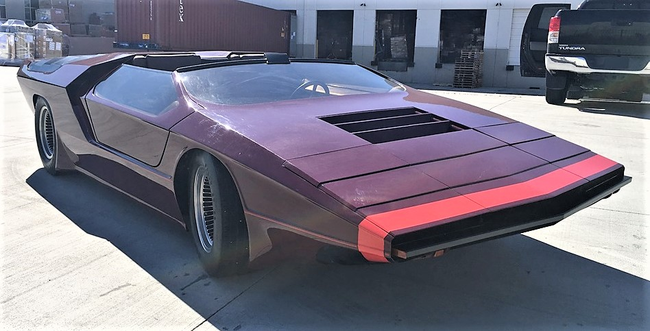 The custom Pantera was built by Sam Foose in the 1970s