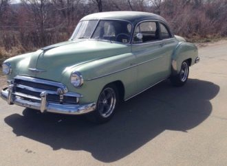 My Classic Car: Roxy's 1950 Chevrolet Deluxe Business Coupe