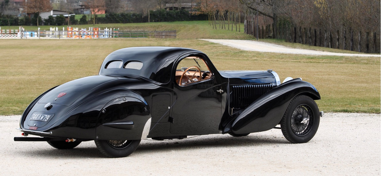 1937 Bugatti has early racing history