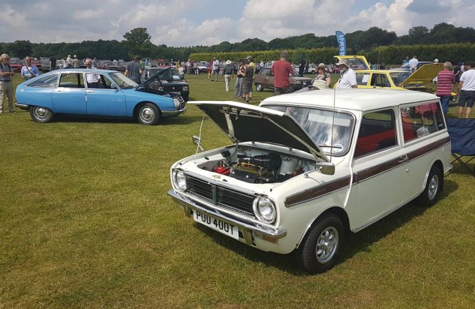 Royal setting this year for the 'unexceptional' car show