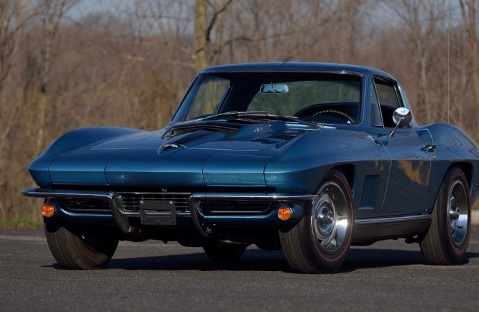 After 50 years (but only 8,500 miles), a hero's Corvette is going to auction