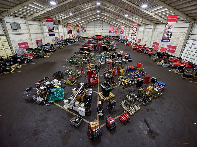 Level 5 Motorsports Collection currently occupying a full 20,000 square feet in storage space
