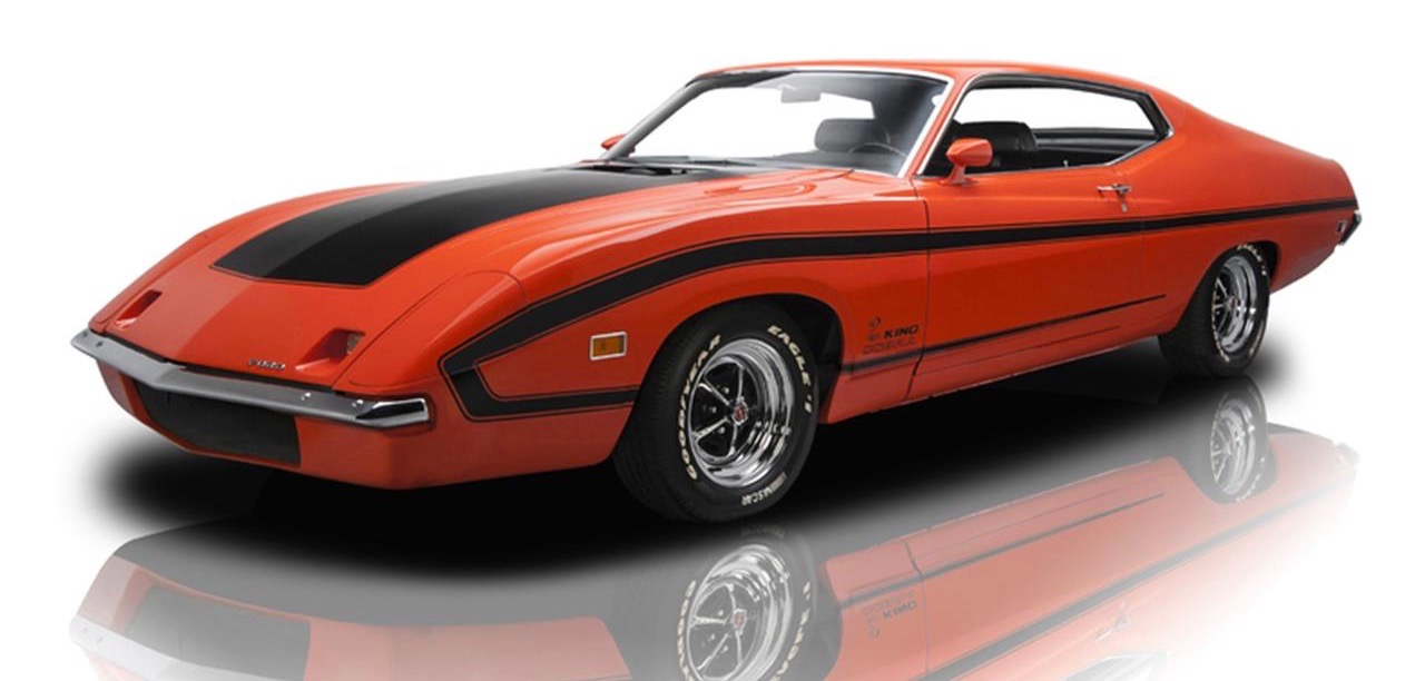 Ford built a pair of these 1970 Torino King Cobras as part of a proposed NASCAR project